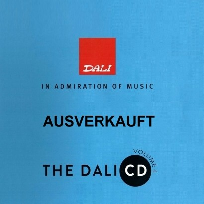The Dali CD Vol. 4 (limitierte audiophile Test CD)
