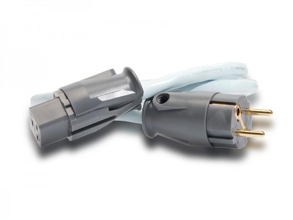 Supra Cables LoRad MK II Netzkabel max. 16A mit SW-EU Stecker gerade