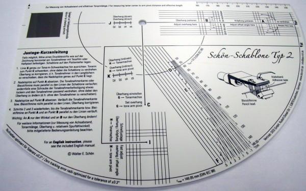 Schön - Schablone Typ 2