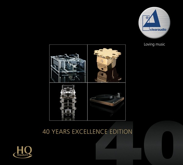 Clearaudio - 40 Years Excellence Edition (HQCD)