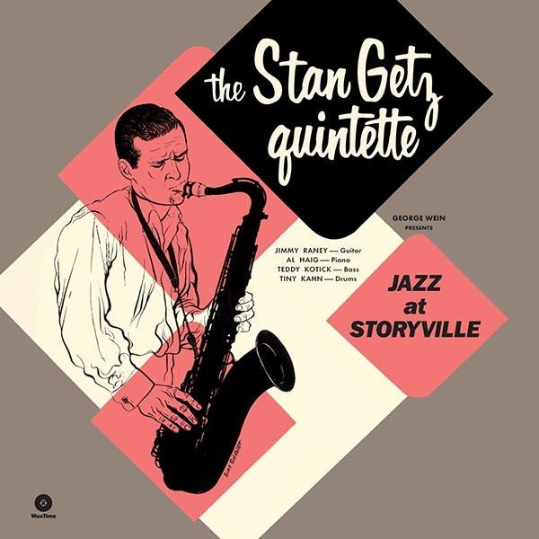 Stan Quintet Getz - Jazz At Storyville + 5 Bonus Tracks (Ltd. 180g Vinyl)