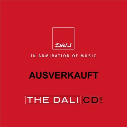 The Dali CD Vol. 3 (limitierte audiophile Test CD)